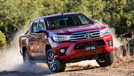 Australian vehicles sales for October 2016 – HiLux conquers all