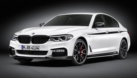 BMW reveals M Performance parts for 2017 5 Series