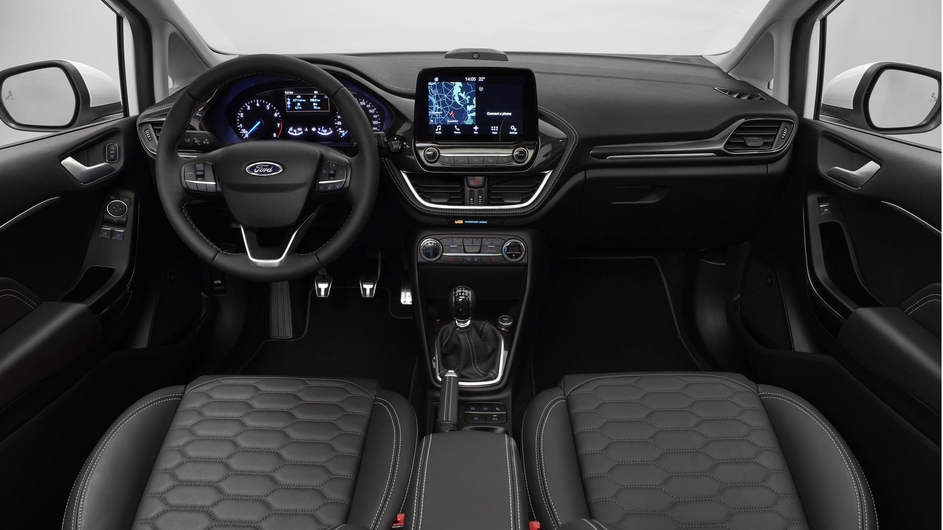 Lovely 2017 Ford Fiesta Interior