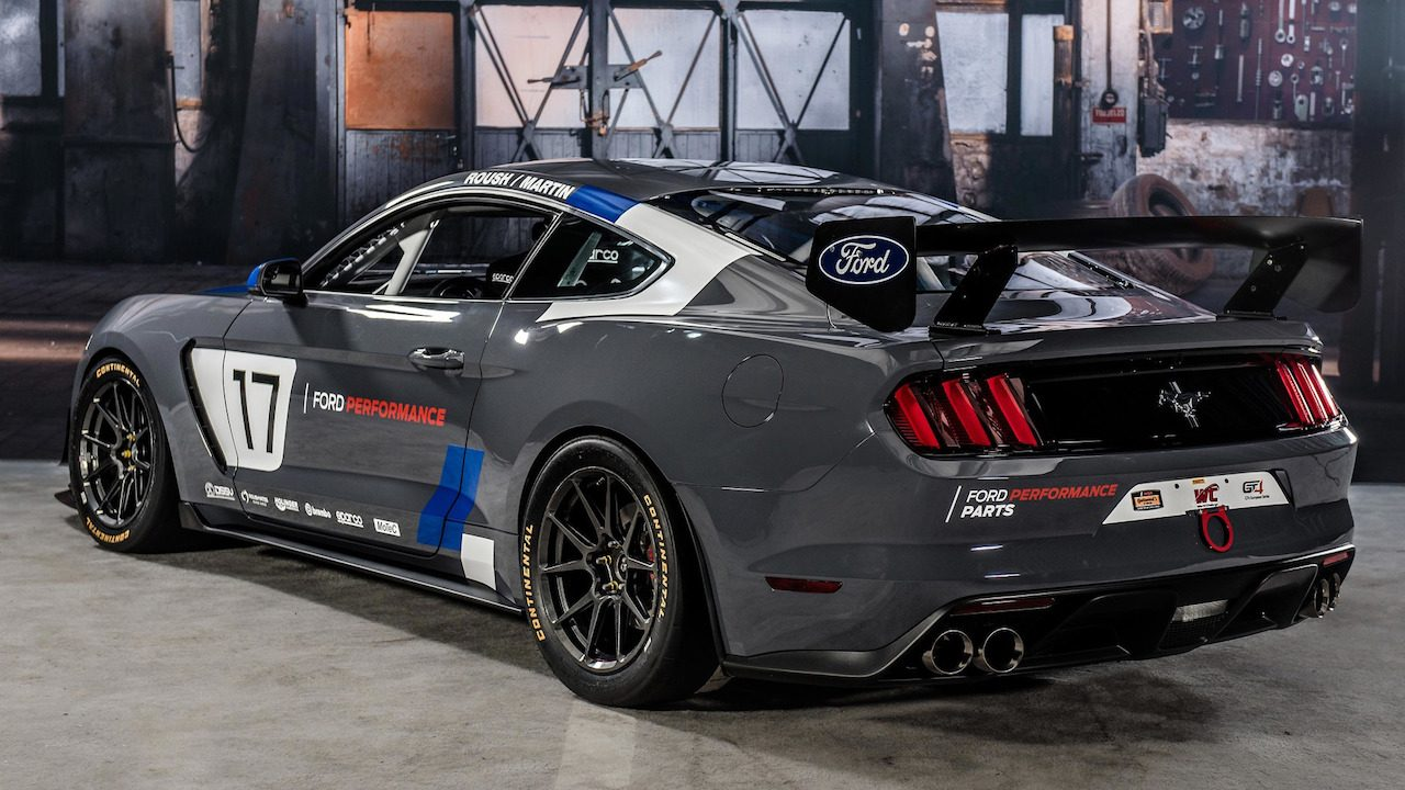 2017 ford mustang gt4 2017 ford mustang gt4 side