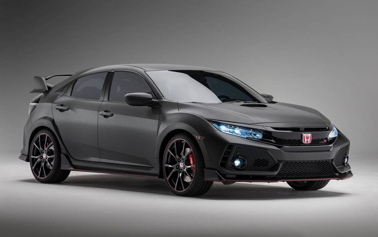 2017 honda civic type r prototype to debut at sema | performancedrive
