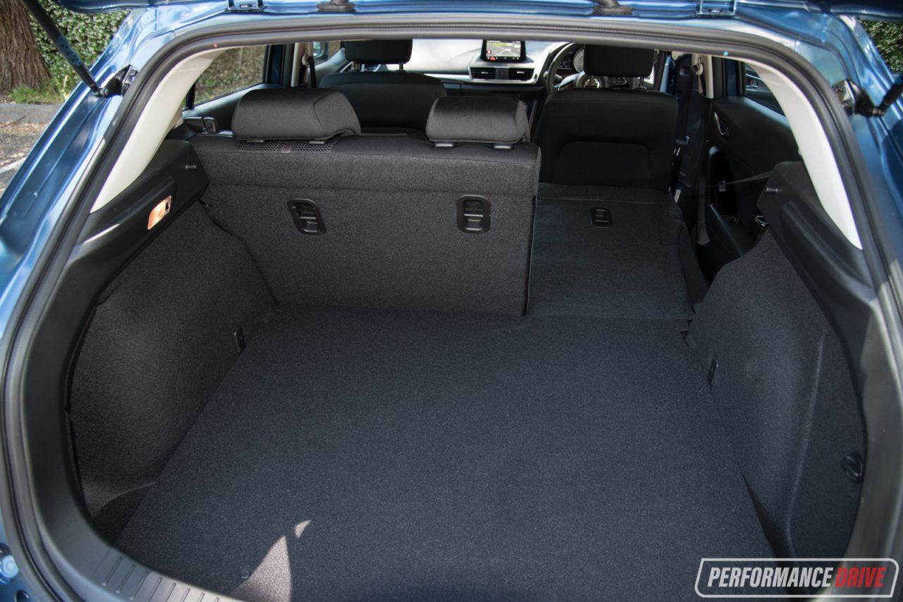 2017 mazda3 vs hyundai i30 small car comparison video. Black Bedroom Furniture Sets. Home Design Ideas