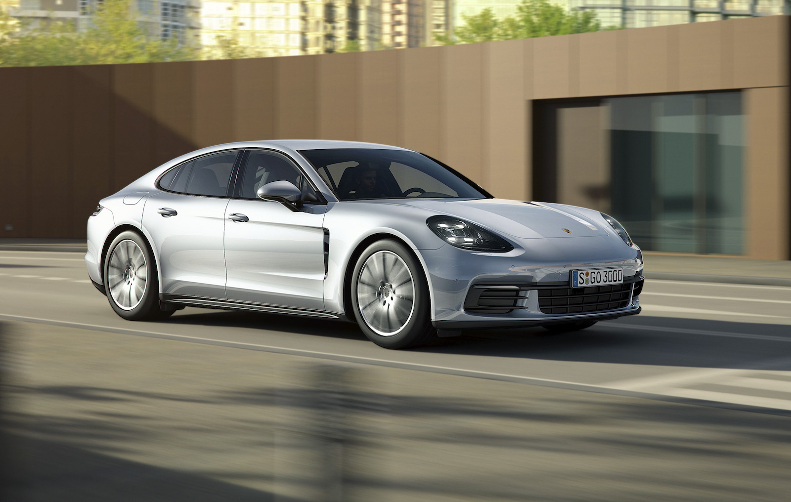 2017 porsche panamera base model revealed gets new v6. Black Bedroom Furniture Sets. Home Design Ideas