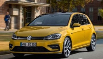 2017 Volkswagen Golf revealed in leaked images