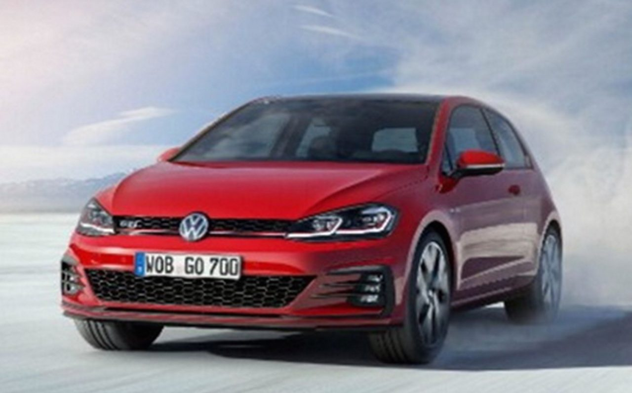 2017 volkswagen golf revealed in leaked images performancedrive. Black Bedroom Furniture Sets. Home Design Ideas