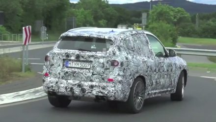 2018 BMW X3 M confirmed by loud prototype (video)