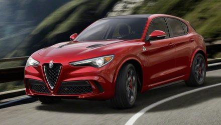 Alfa Romeo Stelvio revealed, 375kW QV range-topper