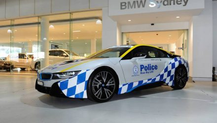 BMW i8 police car added to NSW promo fleet