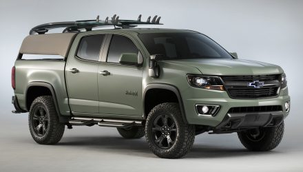 Chevrolet Colorado Hurley concept