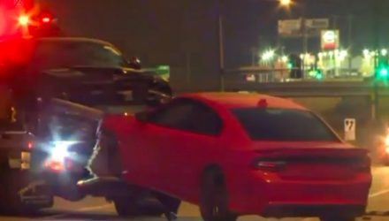 Teenagers steal 3 Dodge Hellcats, crash all 3 less than a mile away