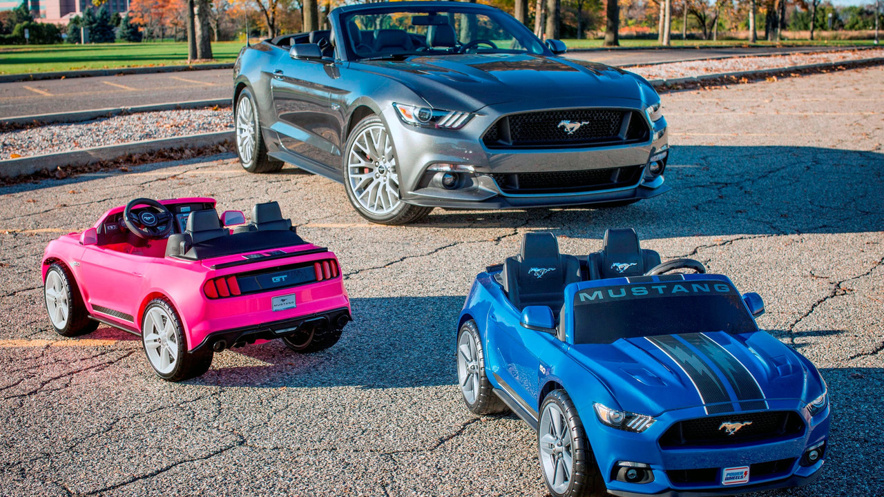 New Mustang Power Wheels: Most Advanced Ever Produced