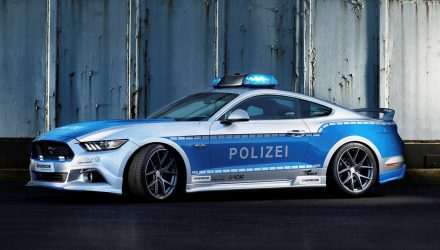 Ford Mustang police car is latest 'Tune It! Safe!' project in Germany