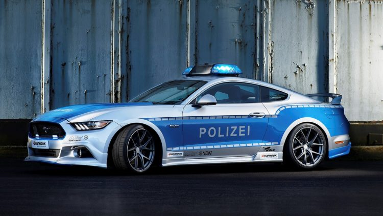 ford-mustang-german-police-car