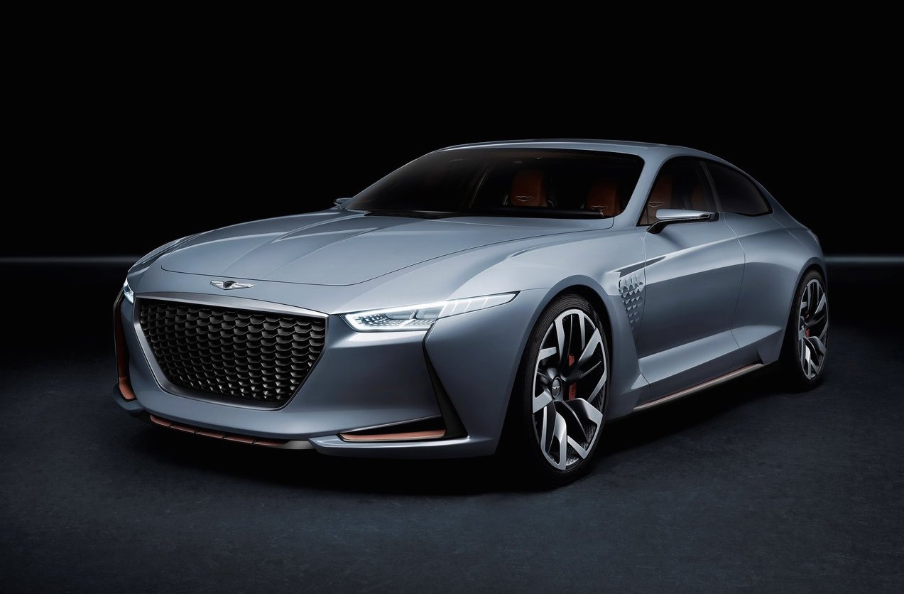 Genesis Ny Concept Future Bmw Rival: Genesis G70 With 3.3TT V6 On Hyundai Australia's Wishlist