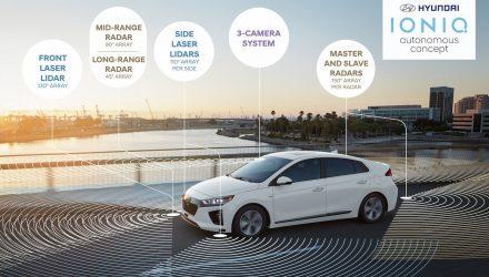 Hyundai to showcase autonomous IONIQ concepts at 2017 CES event