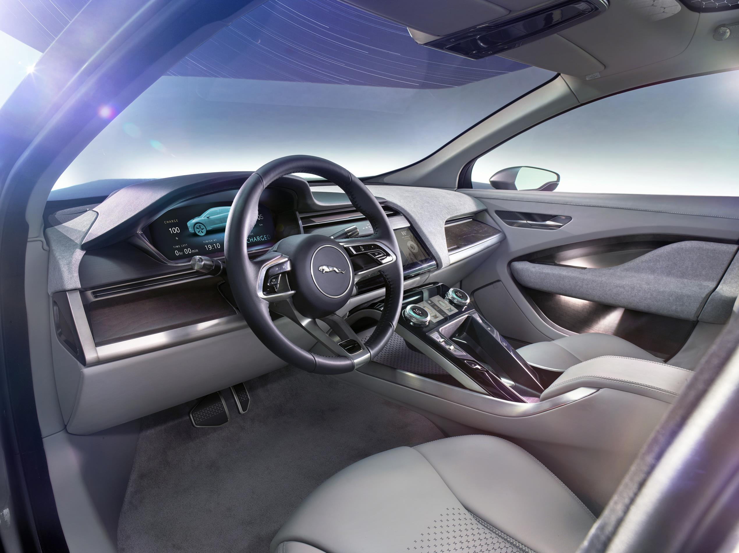 Jaguar I Pace Concept Interior