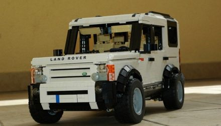LEGO Land Rover Discovery 3 is perfect