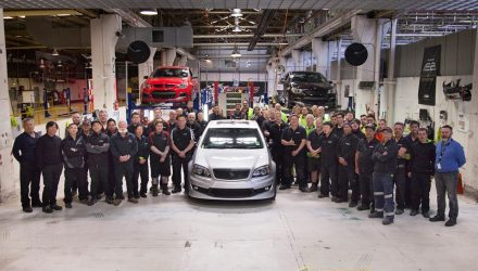Last HSV Grange rolls off production line