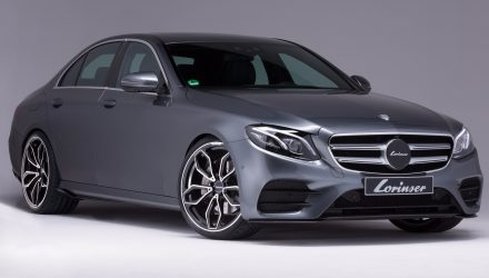 Lorinser gives new Mercedes-Benz E-Class subtle tune
