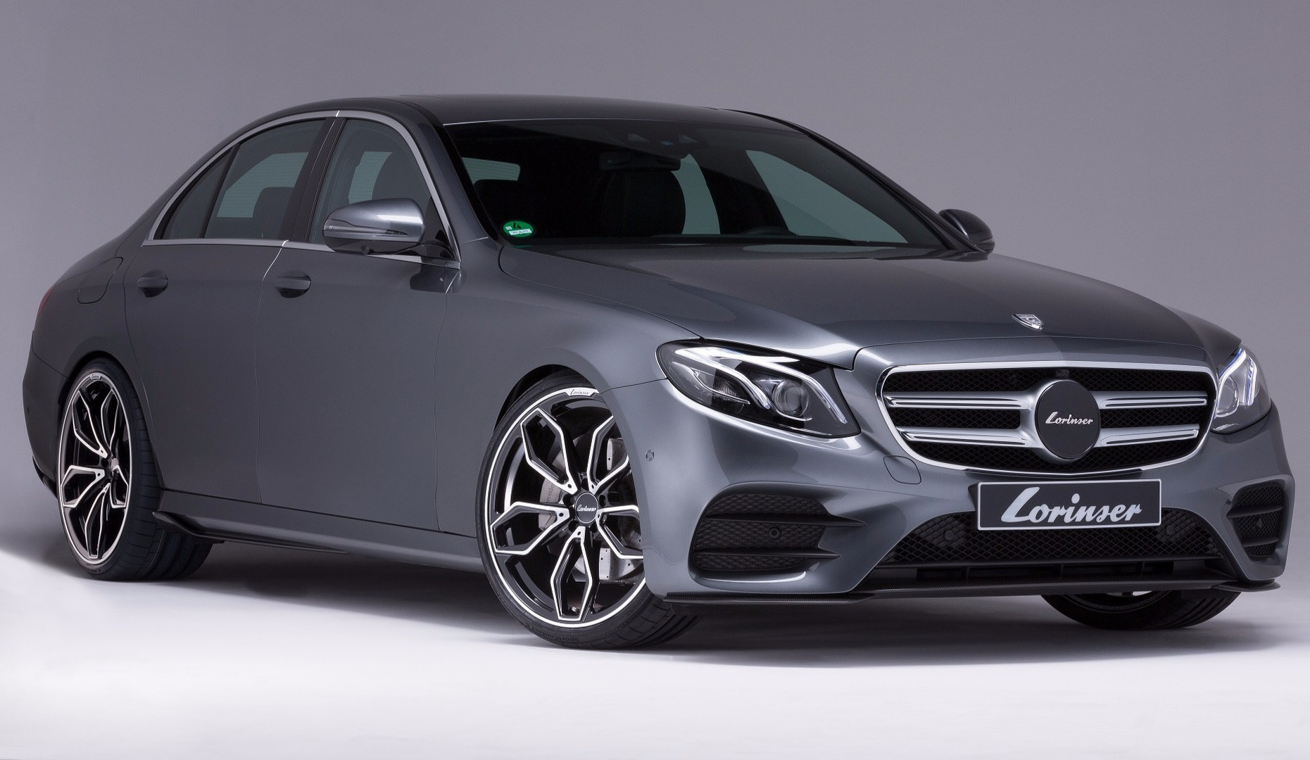 Lorinser gives new mercedes benz e class subtle tune for New mercedes benz e350