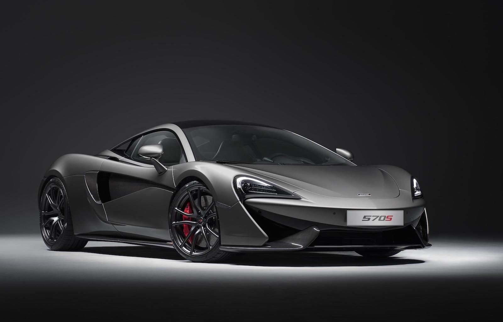 McLaren unveils racing-inspired 570S Track Pack