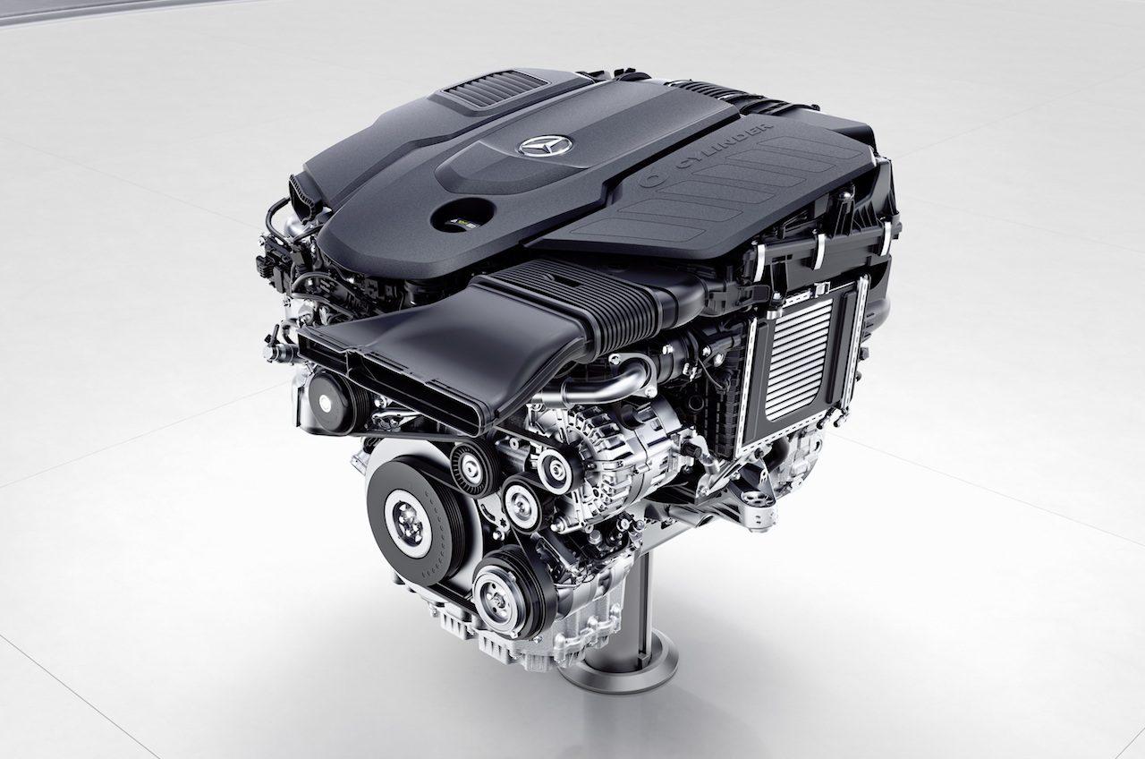 mercedes diesel truck engine