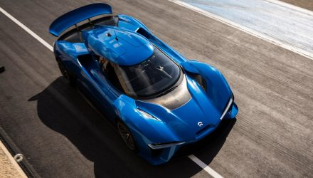 NextEV NIO EP9 is China's latest electric supercar, 1000kW (video)