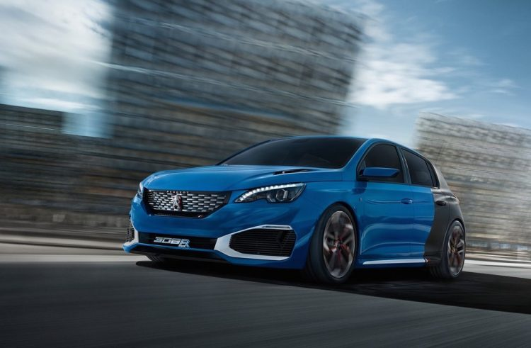 Awesome Peugeot 308 Hybrid R Production Model Hinted  Report