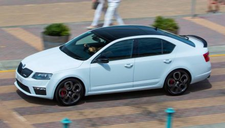 Skoda Octavia RS 230 edition on sale in Australia from $41,490