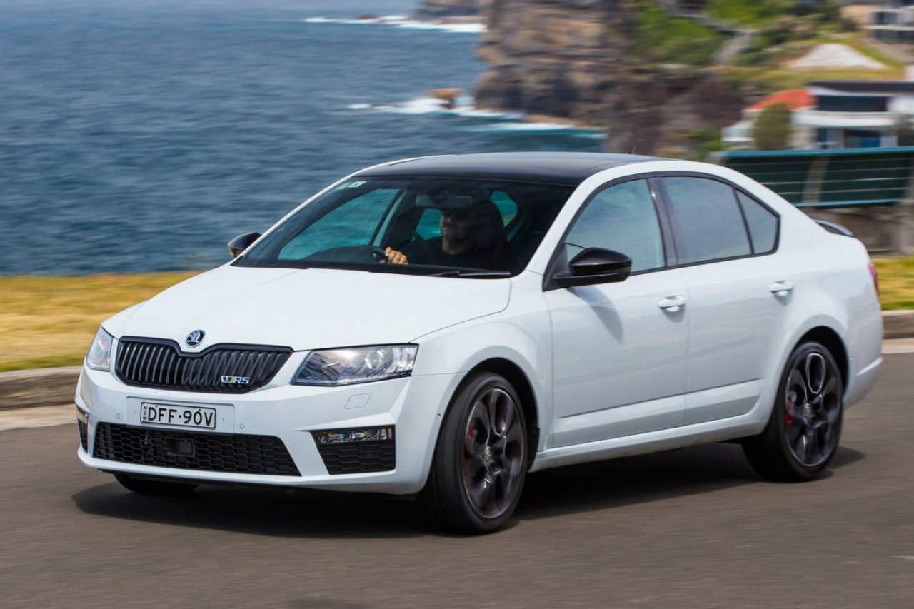 skoda octavia rs 230 edition on sale in australia from. Black Bedroom Furniture Sets. Home Design Ideas