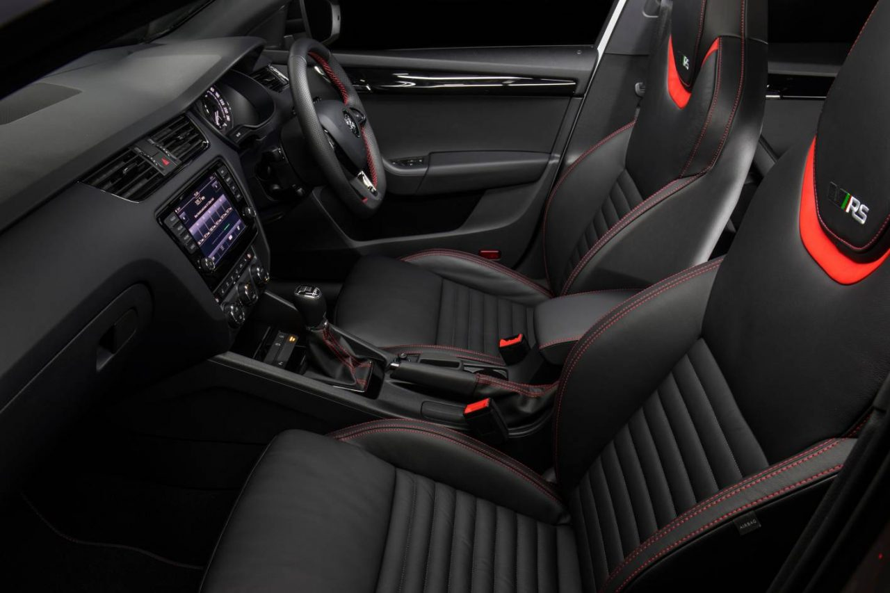 Skoda octavia rs 230 edition on sale in australia from for Skoda octavia interior