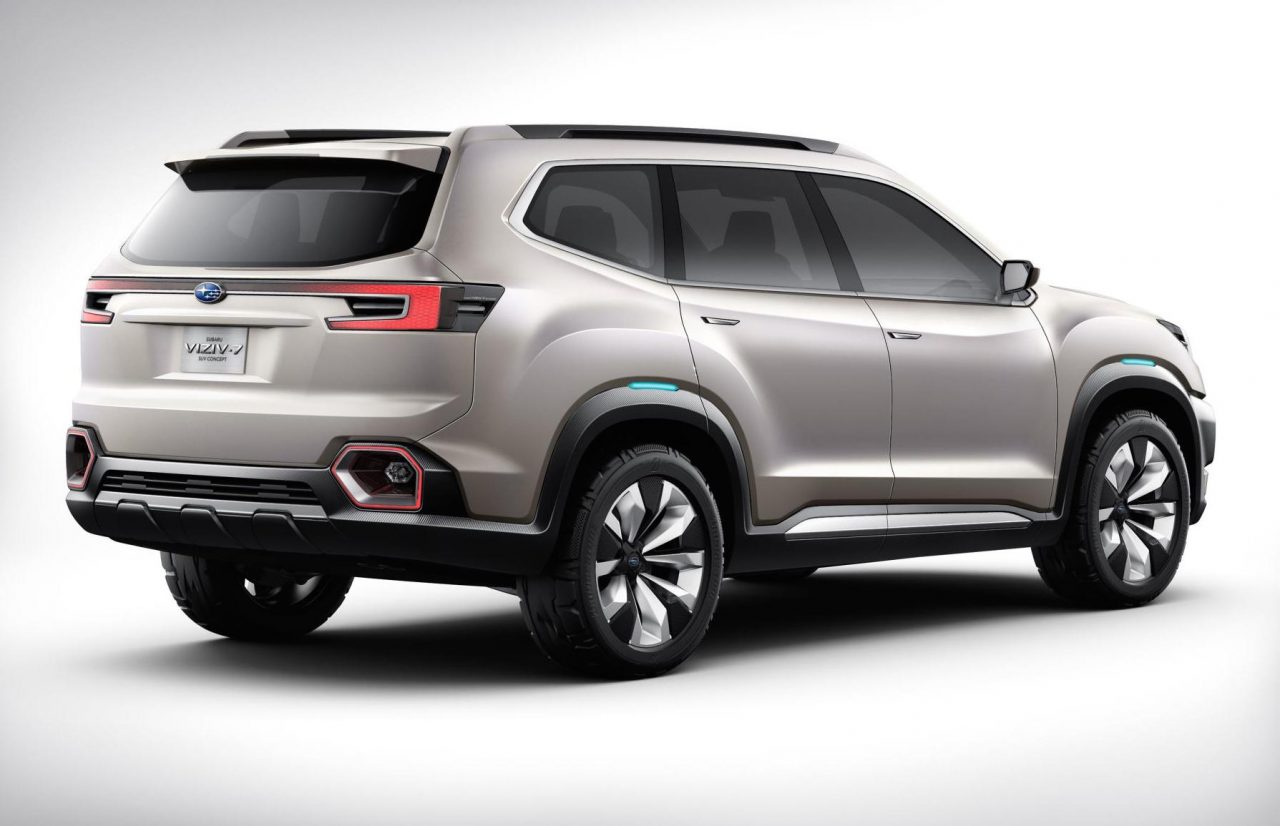 subaru previews new 7 seat suv with viziv 7 concept performancedrive. Black Bedroom Furniture Sets. Home Design Ideas