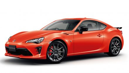 Toyota 86 Solar Orange edition announced in Japan