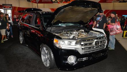 2000hp Toyota Land'Speed'Cruiser overpowers SEMA