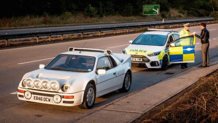 UK police remember the Ford RS200 days, try Focus RS