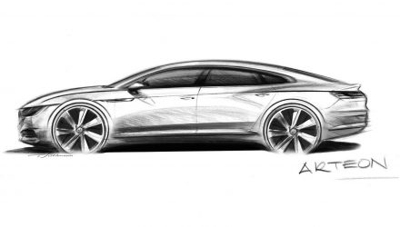 Volkswagen Arteon previewed as Passat CC successor