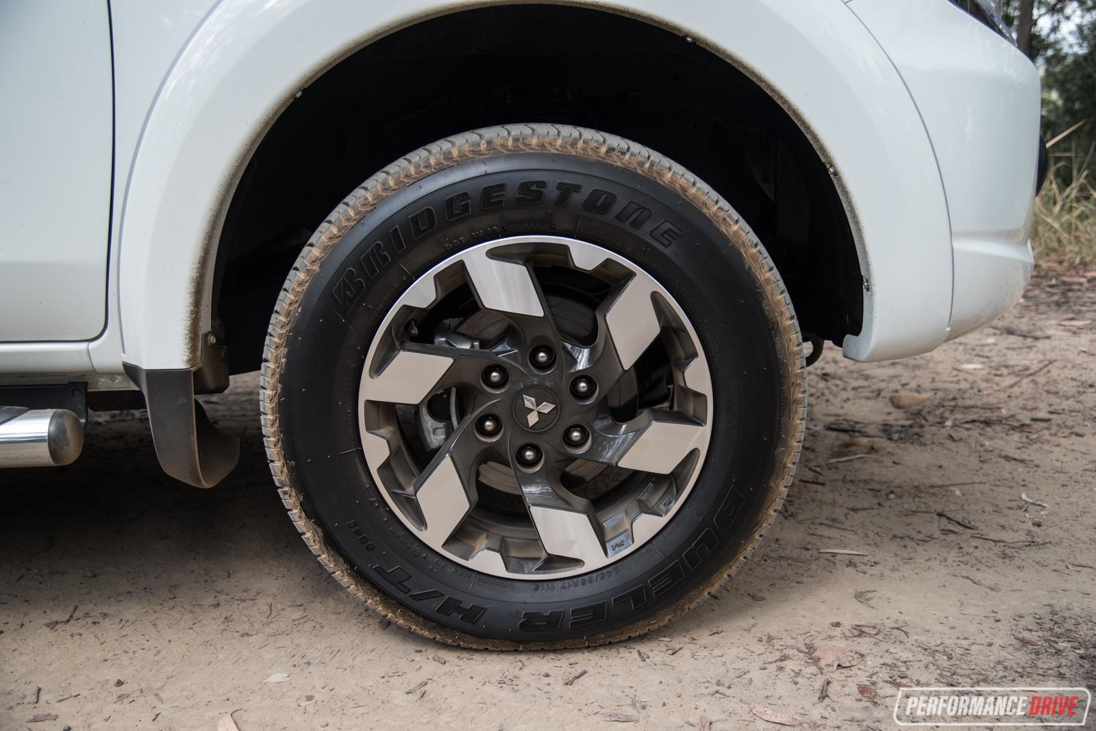 2016 Mitsubishi Triton Exceed Wheels