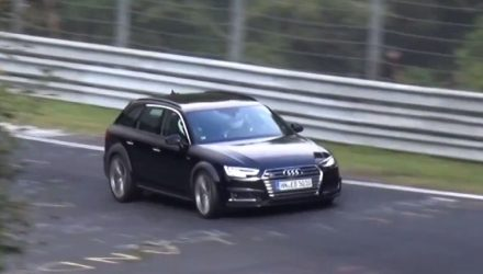 2017 Audi RS 4 Avant spotted, to get 2.9TT V6 (video)