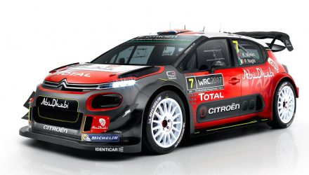 Citroen takes wraps off 2017 Citroen C3 WRC car