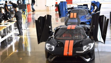 2017 Ford GT production commences, first lucky customers take delivery