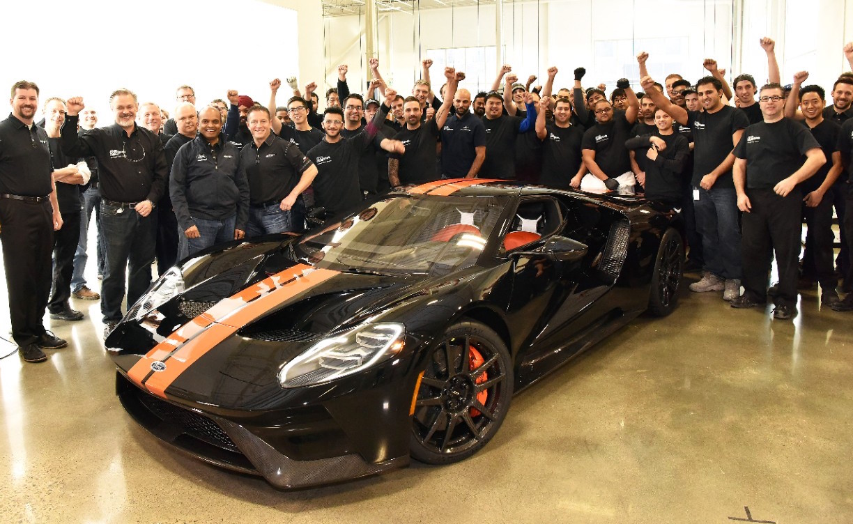 Ford Gt Production First Model