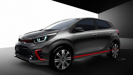2017 Kia Picanto previewed with sporty new design