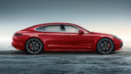 Porsche reveals Panamera Executive with Exclusive Carmine Red