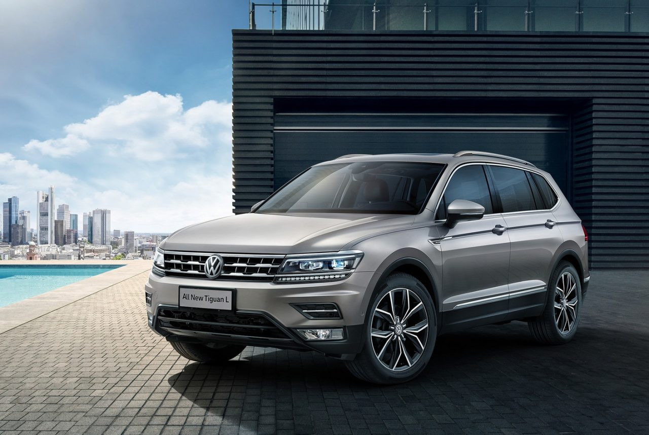 volkswagen tiguan allspace 7 seater revealed in chinese specification performancedrive. Black Bedroom Furniture Sets. Home Design Ideas