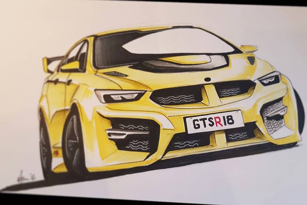 2018 Hsv Gts Rendered Based On New Holden Ng Commodore