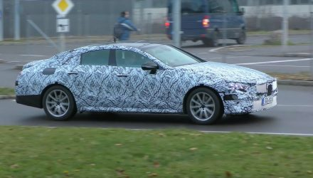 2018 Mercedes-Benz CLE prototypes spotted, to replace CLS (video)