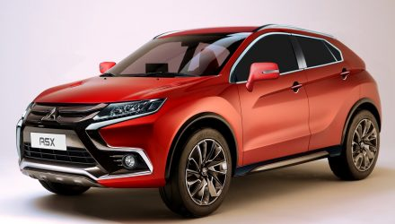 What the 2018 Mitsubishi ASX could look like