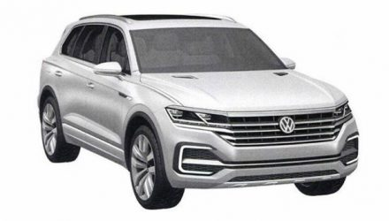 Is this the 2018 Volkswagen Touareg? Potential patent images surface online