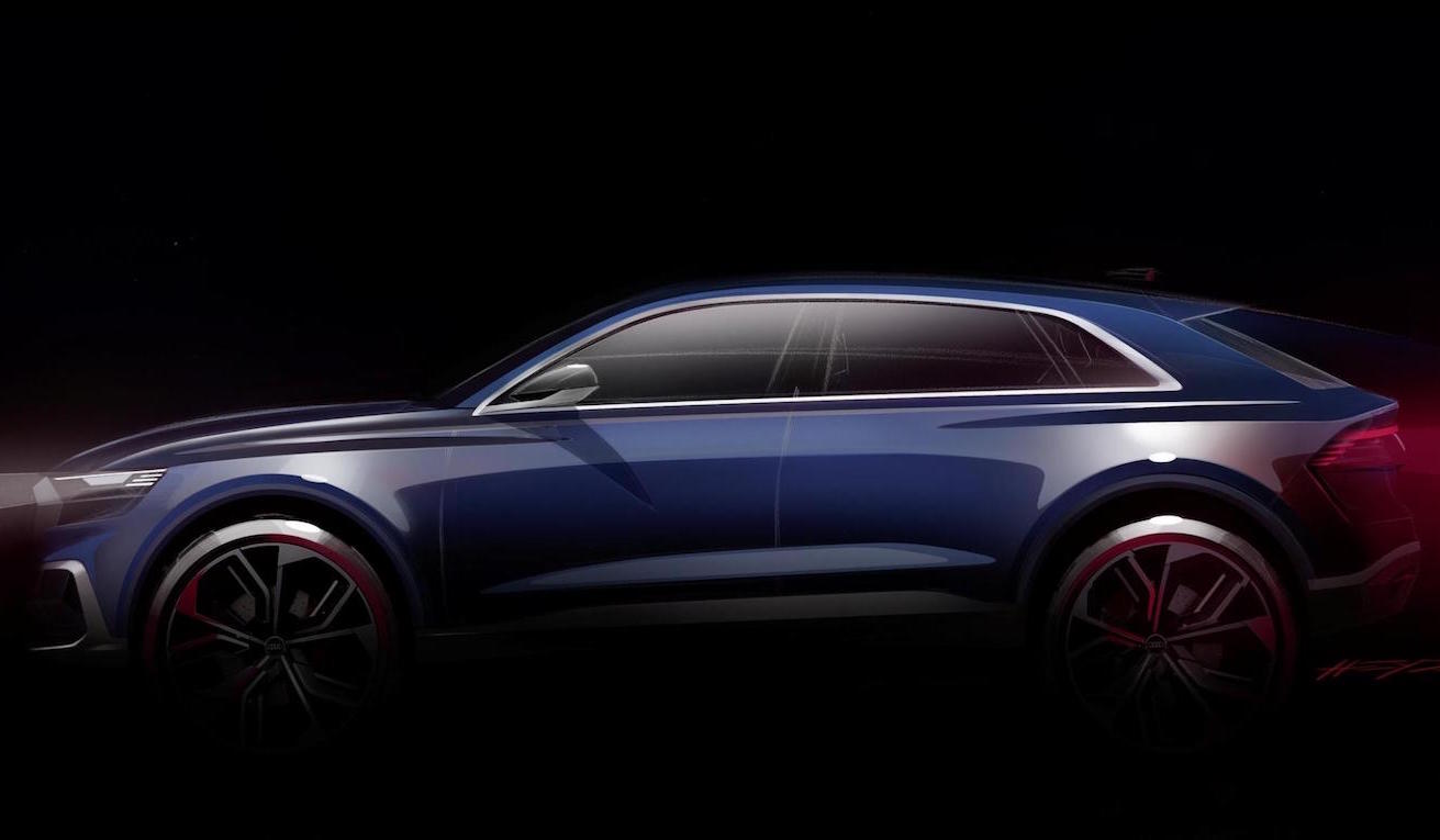Audi Q8 concept announced for NAIAS 2017 debut