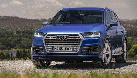 Audi SQ7 4.0 TDI V8 on sale in Australia from $153,616